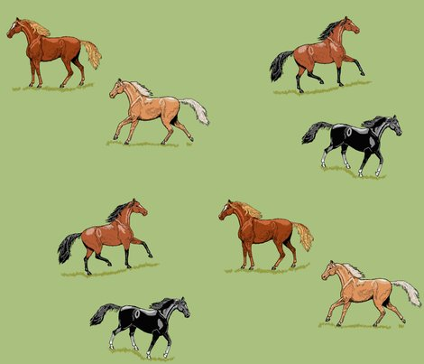 Rrhorses_ink_mint___grass_double_g_shop_preview