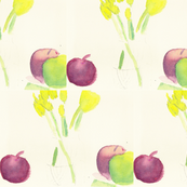 Fruits and Tulips-ed