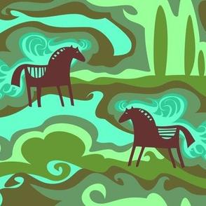 Dreaming Horses
