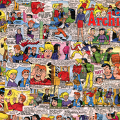 Archie Comic collage