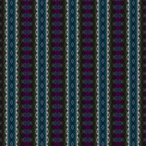 Geometric 0946 k2 sharp r1 teal and purple