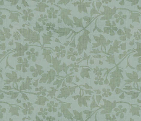 Silhouette Linen  fabric by kristopherk on Spoonflower - custom fabric