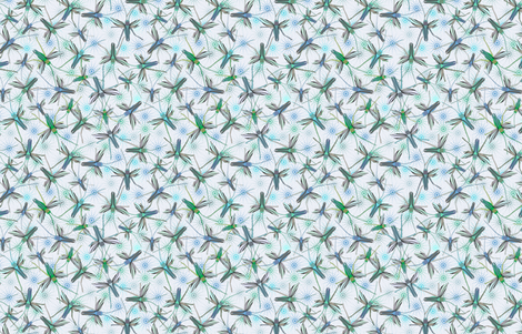 Crickets #1 fabric by susiprint on Spoonflower - custom fabric