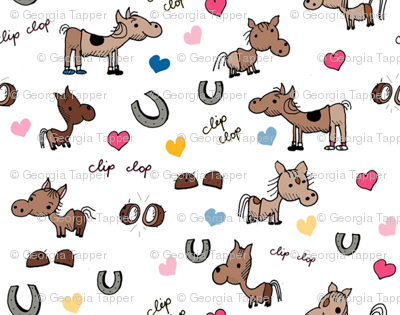 Clip Clop Horse Costumes