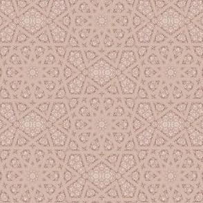 Lacy Beige Geometric © Gingezel™ 2013