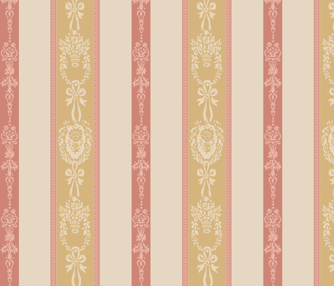 Chantilly  fabric by mellymellow on Spoonflower - custom fabric