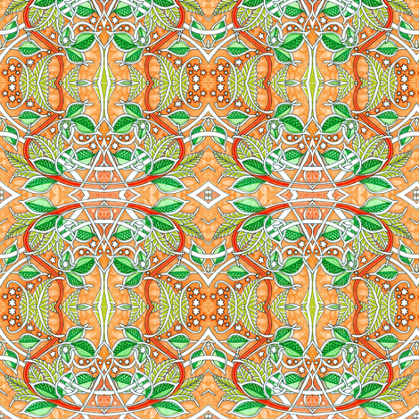 In the Citrus Orchard fabric by edsel2084 on Spoonflower - custom fabric