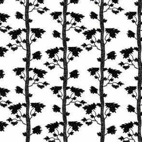 tree stripe black