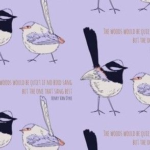 wrens four tone with quote