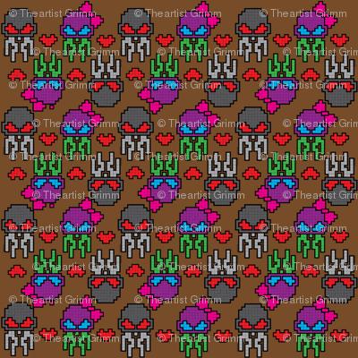 Skullyfish Pixel Love