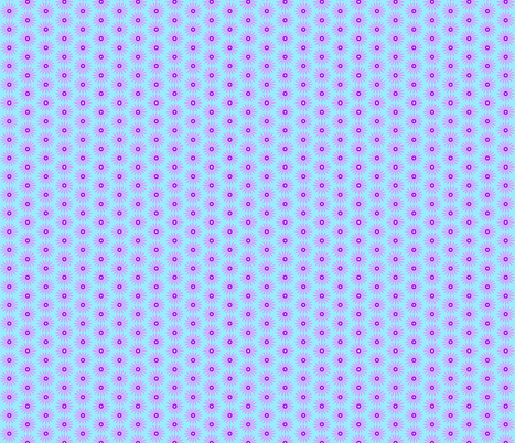 Daisy Mauve on Blue fabric by pippitypop on Spoonflower - custom fabric