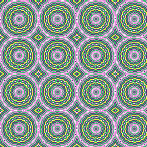 petals_kaleidoscope fabric by anino on Spoonflower - custom fabric