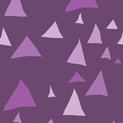Purple Mountain Triangles