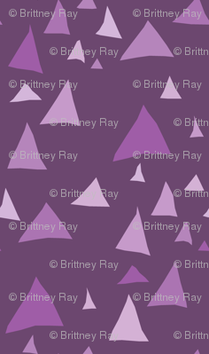 Purple Mountain Geometric