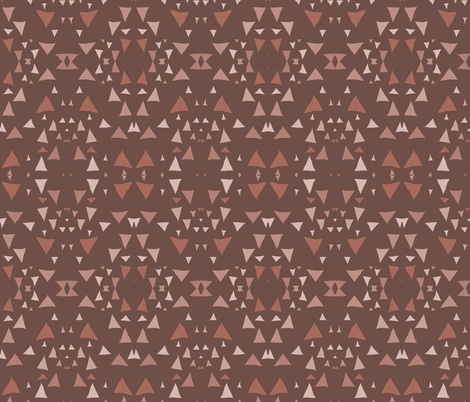 Mountain Geometric fabric by pond_ripple on Spoonflower - custom fabric