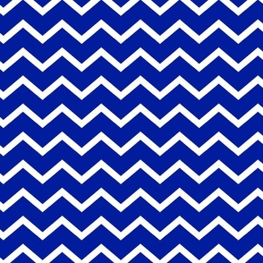 ROYAL AND WHITE CHEVRON