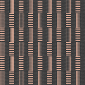 Candy Stripe Stacked - charcoal
