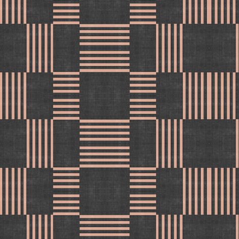 Candy Stripe - charcoal
