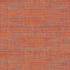 Woven cloth - orange, red, taupe, purple