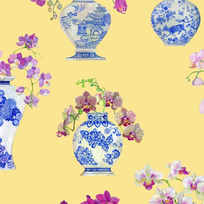 orchid-vases_yellow