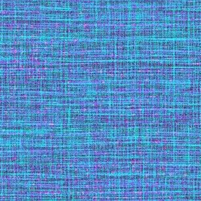woven cloth - blue, aqua, purple
