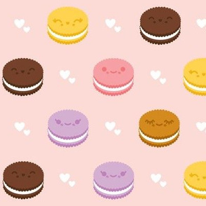 Kawaii Cookie Sandwiches