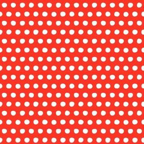 red white petite polka