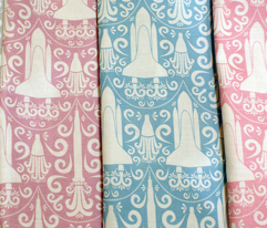 Rocket Science Damask Fat Quarters