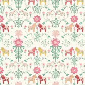 dala_horse_pastel_rose ecru_M