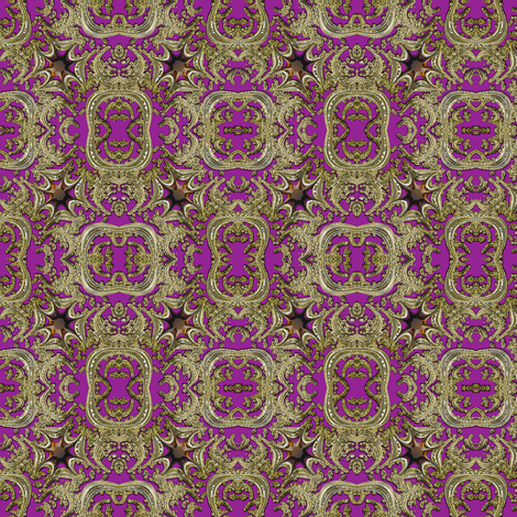 Gold and Topaz Maltese Cross 5 fabric by eclectic_house on Spoonflower - custom fabric