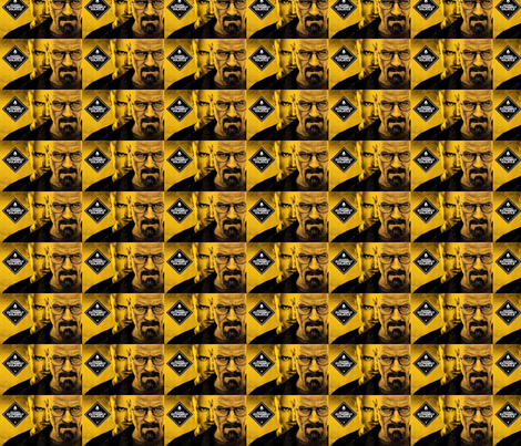 breaking bad inspired fabric by tefaq1 on Spoonflower - custom fabric