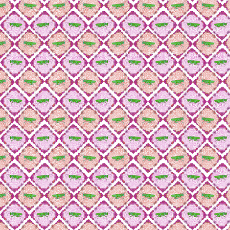 Dance of the Crickets fabric by meghanwallace on Spoonflower - custom fabric