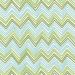 Mingle, Lime + Aqua