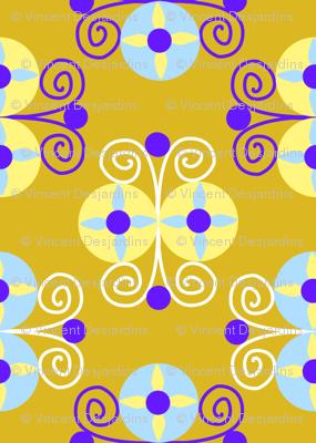 Art Deco Circles and Spirals