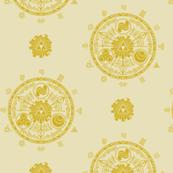 Hyrule Medallions Gold