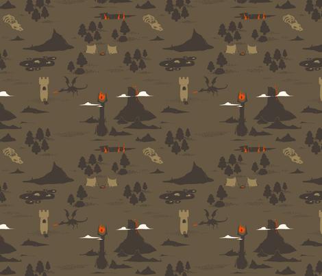 RPG Mt Doom and the Wastelands
