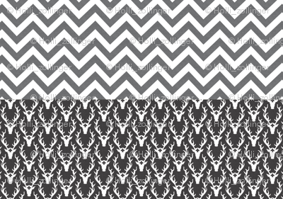chevron_and_deer_head_full_yard