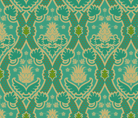 Serpentine 905b fabric by muhlenkott on Spoonflower - custom fabric