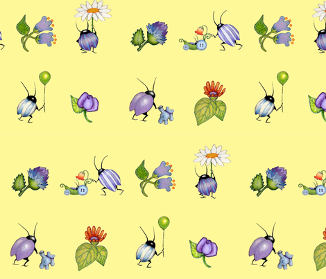 baby buggys fabric by golders on Spoonflower - custom fabric