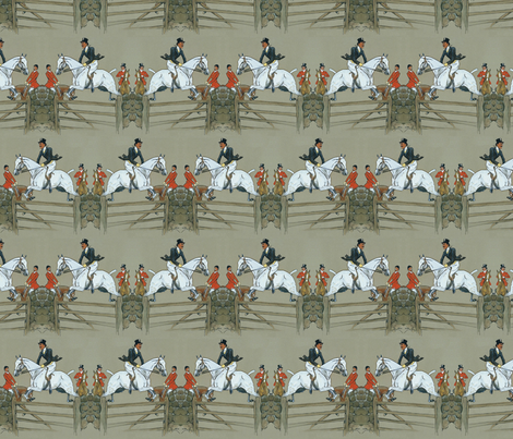 Vanity Fair's Hunter Captain fabric by ragan on Spoonflower - custom fabric