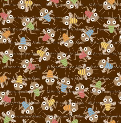 Dancing crickets
