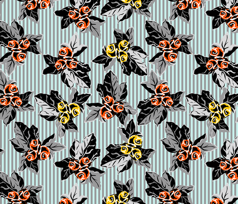 grandmas sofa meets folk art funk - a design across time - synergy0007 fabric by glimmericks on Spoonflower - custom fabric