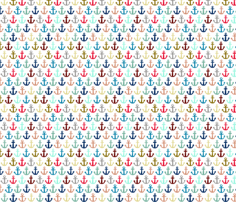 anchors aweigh fabric by katherinecodega on Spoonflower - custom fabric