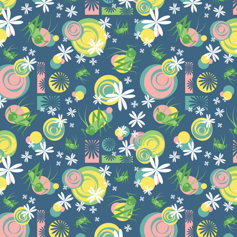 Charming Chirpers fabric by bojudesigns on Spoonflower - custom fabric