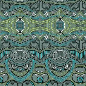 TAIFO 1a - grey, grn, blue