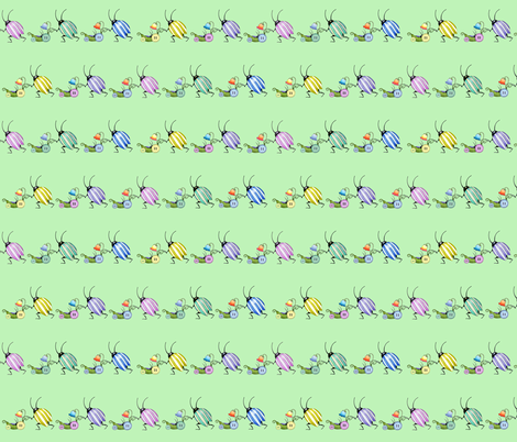 underbrush buggyline fabric by golders on Spoonflower - custom fabric