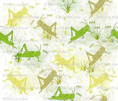 Noisy Crickets!