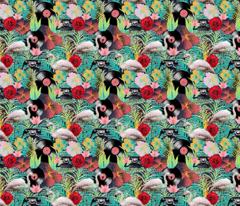 rockabilly mix fabric by kociara on Spoonflower - custom fabric
