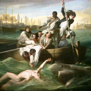 Watson and the Shark - John Singleton Copley  (1778)