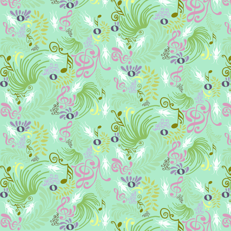 Moonlight Sonata fabric by graceful on Spoonflower - custom fabric
